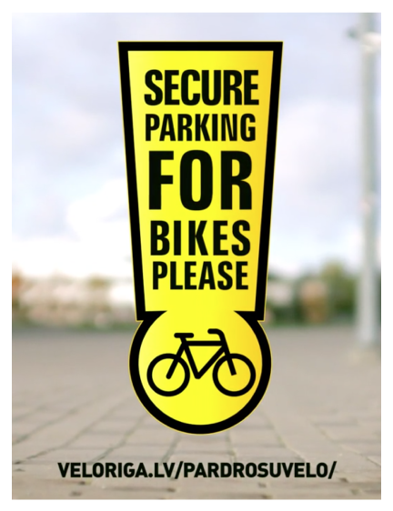Secure parking for bikes
